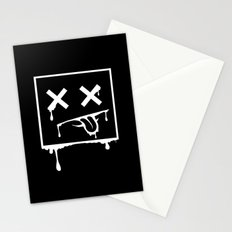 Dead Pixel Negative Stationery Cards
