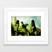 Banana Dreams Framed Art Print