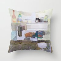 Starving Artist (D.W) Throw Pillow