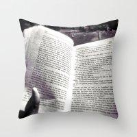 Quiet Book To MySelf Throw Pillow