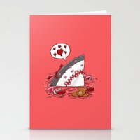 The Valentine's Day Shark Stationery Cards