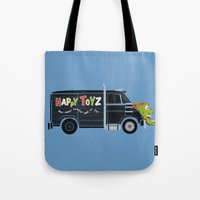 The Happy Toyz Van Tote Bag
