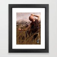 The Killer Wears Overall… Framed Art Print