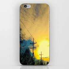 Telephone Trees iPhone & iPod Skin