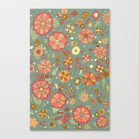 Mandarinas Canvas Print
