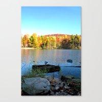 fall bliss Canvas Print