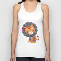 The Little King of the Jungle Unisex Tank Top