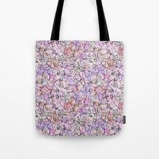Scattered Floral Tote Bag
