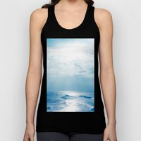 Hookipa Beach Blue Sensa… Unisex Tank Top