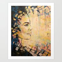 Looking To The Future -b… Art Print