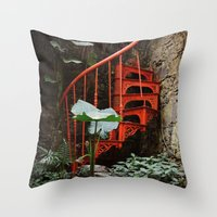 Up Up And Nowhere Throw Pillow