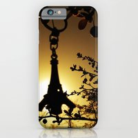 iPhone & iPod Case featuring Shadow of the Parisian by Nur Simsek