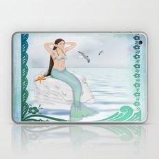 Seaside Mermaid Laptop & iPad Skin