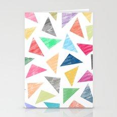 Colourful Geometric Patt… Stationery Cards