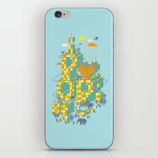 i love pop iPhone & iPod Skin