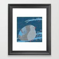 Bird Of Happiness Framed Art Print