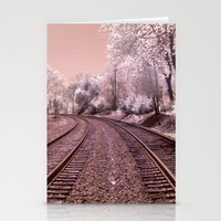 Train Track in Culpeper Stationery Cards