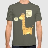 Giraffe Problems! - Baby… Mens Fitted Tee Lieutenant SMALL