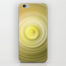 Gold Swirl iPhone & iPod Skin