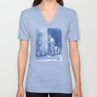Victor and Nora, Mr. Freeze's Heart of Ice Unisex V-Neck