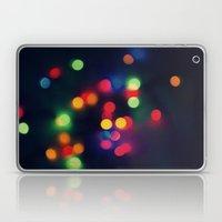 Lights Of The Season Laptop & iPad Skin