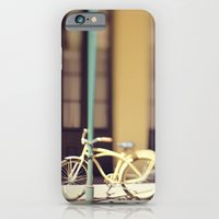 iPhone & iPod Case featuring Yellow New Orleans Bicycle by Briole Photography