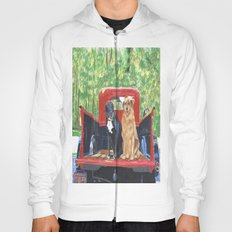 Antique Truck with Dogs Hoody