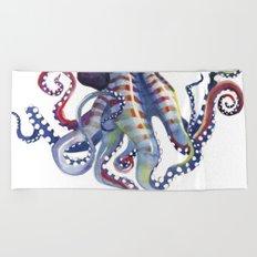 Octopus Beach Towel