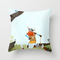 Hero Shot Throw Pillow