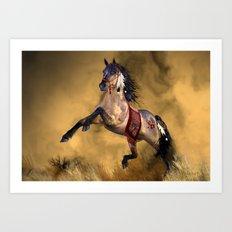 HORSE - Dreamweaver Art Print