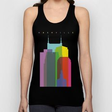 Shapes of Nashville Unisex Tank Top