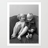 Big Brothers  Art Print
