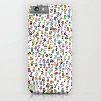 Animal Crossing New Leaf All Villagers iPhone 6 Slim Case
