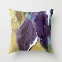 Ivy Leaves Throw Pillow