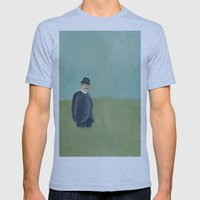 Overdressed. Mens Fitted Tee Athletic Blue SMALL