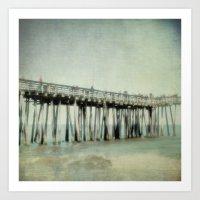 The Old Pier Art Print