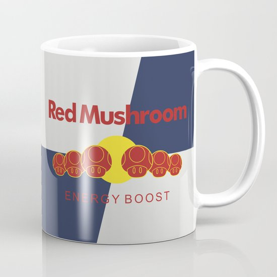 Red Mushroom Energy Boost Mug