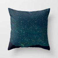 Desert Stars Throw Pillow