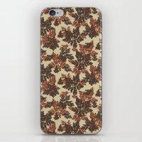 Raccoon Lake - Red iPhone & iPod Skin