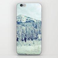 Snowy Mountain iPhone & iPod Skin