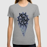 The Epidemic Of Love  Womens Fitted Tee Athletic Grey SMALL