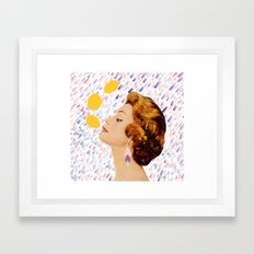 you say it's just a passing phase Framed Art Print