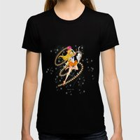 Sailor Venus  Womens Fitted Tee Black SMALL