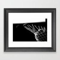 Game Score! Framed Art Print