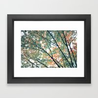 Paint Me Autumn Framed Art Print
