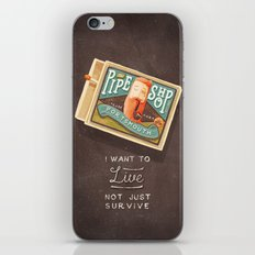 Survive iPhone & iPod Skin