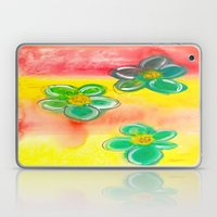 Three Flowers Laptop & iPad Skin