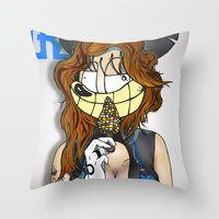 Introducing LocaCrazy Mouse (2013) Throw Pillow
