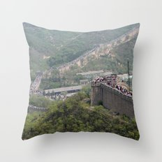 GreatWall20160106 Throw Pillow