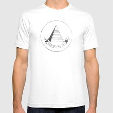 C.R.E.A.M. SMALL White Mens Fitted Tee